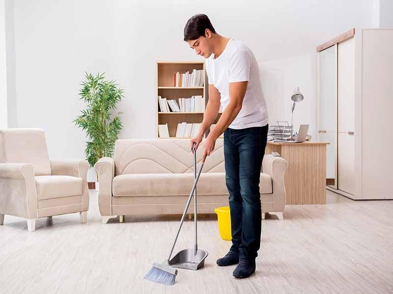 انجام کارهای خانه