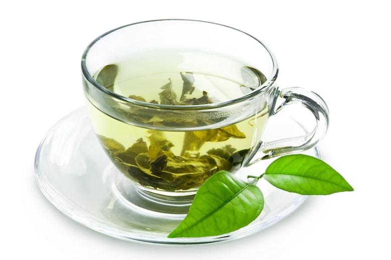 چای سبز و لاغری شکم