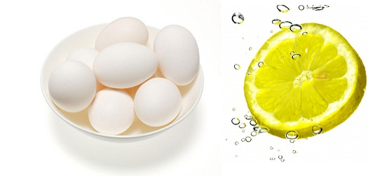 ماسک سفیده تخم مرغ و لیمو برای انواع پوست