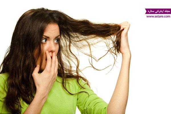 ماسک مو برای موهای خشک و وز شده
