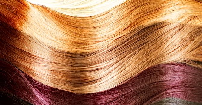ماسک مو برای موهای رنگ شده